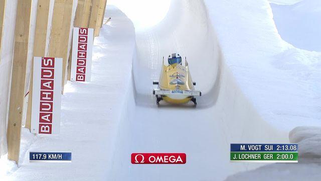 St-Moritz (SUI), 2e manche: le duo allemand Friedrich-Schueller victorieux [RTS]