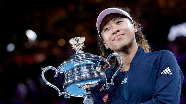 Deuxième victoire en Grand Chelem pour Naomi Osaka. [Mast Irham - Keystone]