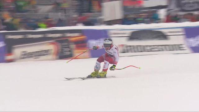 Garmisch (GER), super G dames: victoire de Nicole Schmidhofer (AUT) [RTS]