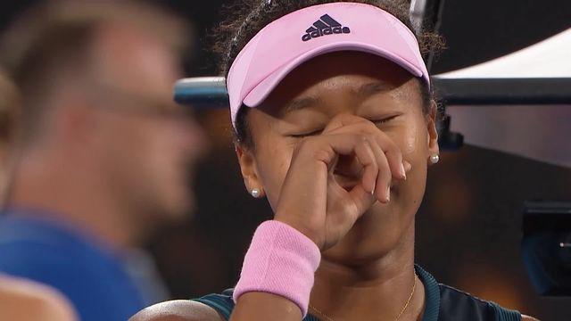 Finale, P. Kvitova (CZE) battu par N. Osaka (JPN) 6-7 7-5 4-6: les meilleurs points de la victoire de la Japonaise [RTS]