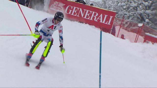 Kitzbuehel (AUT), slalom messieurs 2e manche: victoire de Clement Noel (FRA) [RTS]