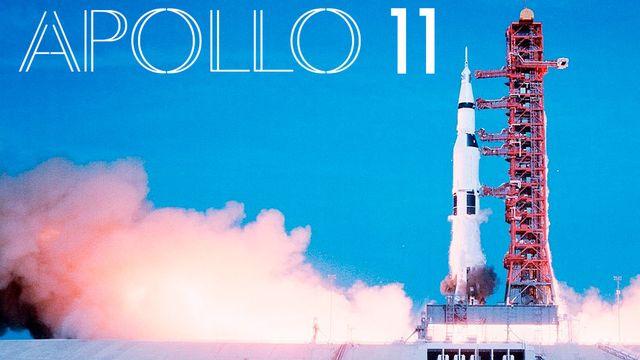 """Le film """"Apollo 11"""" de Todd Miller montre pour la première fois des images inédites des premiers pas sur la Lune. [Neon/CNN Films]"""