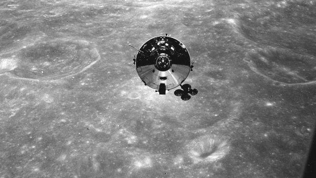 La mission Apollo 10 a été réalisée en mai 1969 autour de la lune pour préparer le terrain à l'alunissage que réalisera Apollo 11. [Keystone / AP / Nasa]