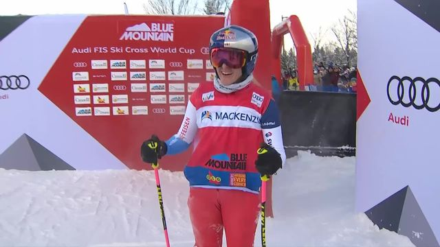 Blue Mountain (CAN), skicross dames: victoire de Fanny Smith (SUI) [RTS]
