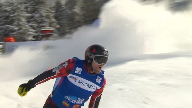 Blue Mountain (CAN), skicross messieurs: victoire de Brady Leman (CAN) [RTS]