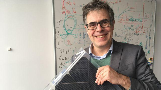 Le physicien Christophe Ballif. [Jean de Preux - RTS]