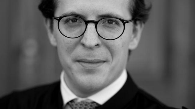 Nicolas Gurtner, avocat et initiateur de cours et concours d'éloquence. [Louis Muskens]
