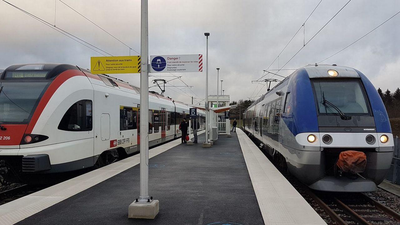 La ligne Bienne-Belfort est confrontée à de nombreux dsyfonctionnements. [DR]