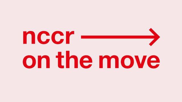 Le logo de nccr - on the move, le Pôle de recherche national consacré aux études sur la migration et la mobilité. [nccr-onthemove.ch - Unine]