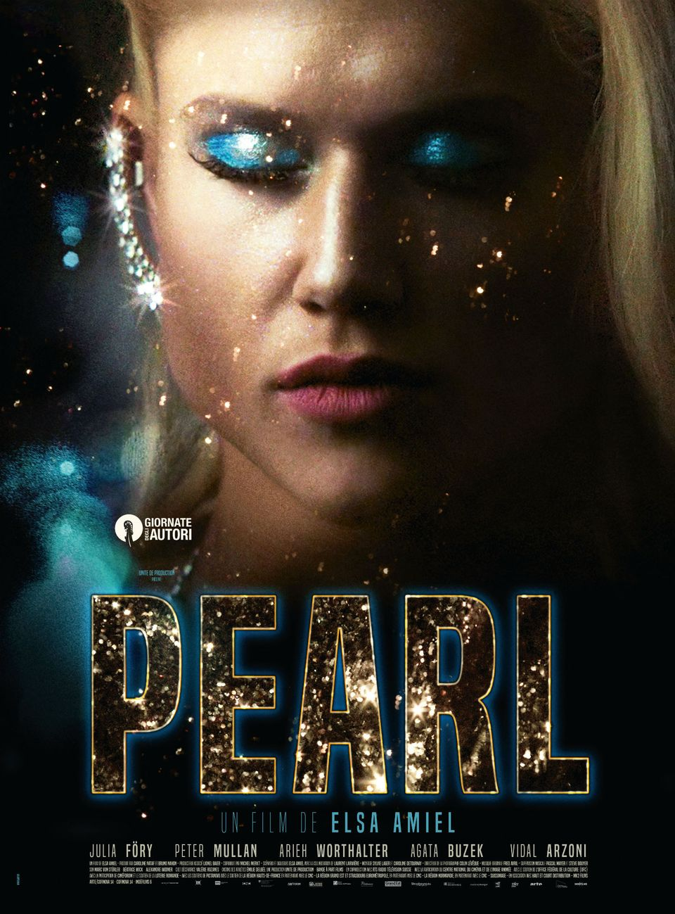 """L'affiche du film """"Pearl"""" de la réalisatrice Elsa Amiel. [Bande à part films]"""