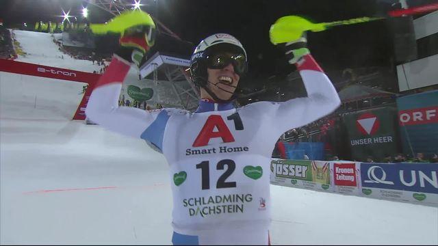 Schladming (AUT), slalom messieurs 2e manche: la 4e place pour Ramon Zenhaeusern (SUI) [RTS]