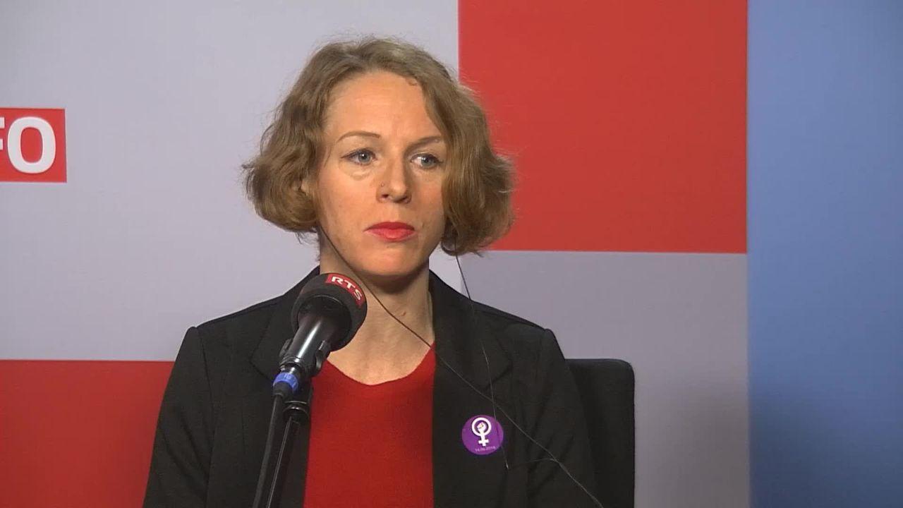 L'invitée de La Matinale (vidéo) - Manuela Honegger, membre du comité d'organisation de la grève des femmes [RTS]