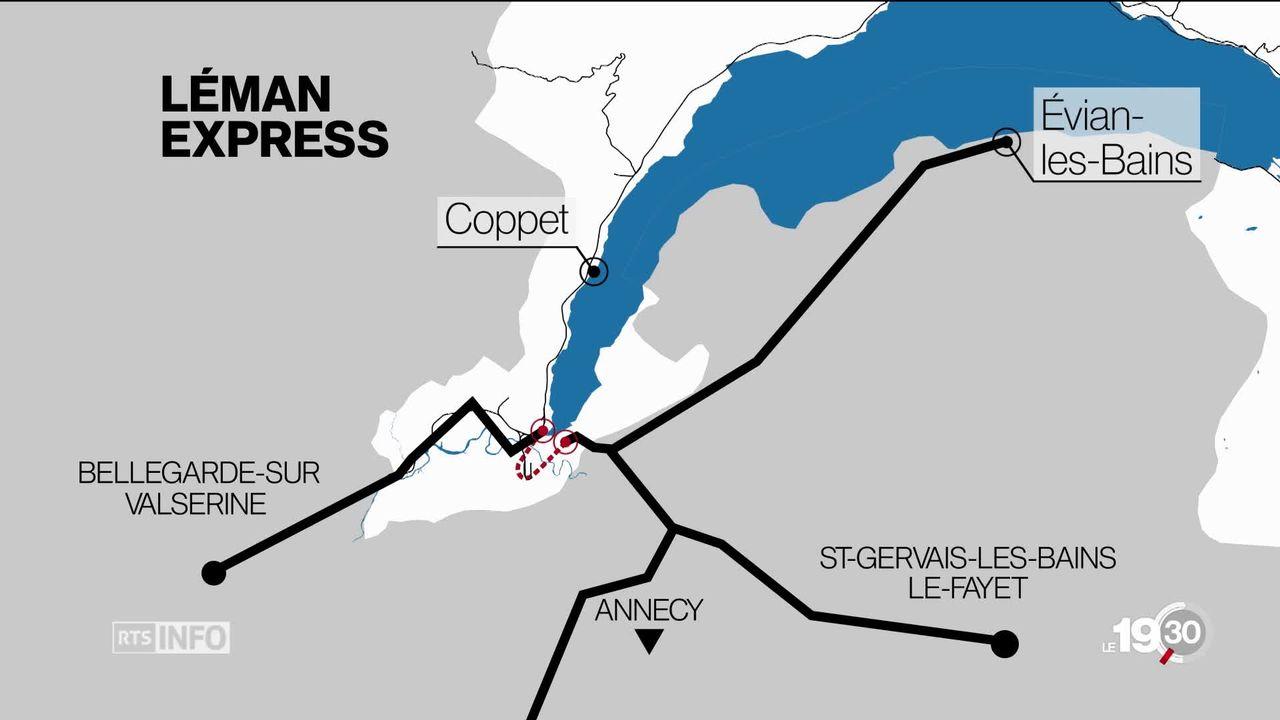 Le Léman Express c'est pour la fin de l'année et les espoir de la route au rail vont bon train [RTS]