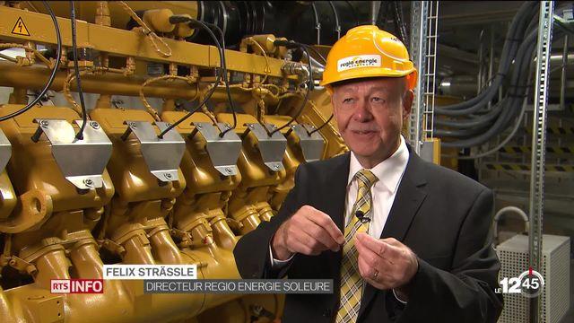Énergie renouvelable: projet prometteur à Soleure, où de l'électricité photovoltaïque est transformée en gaz naturel. [RTS]