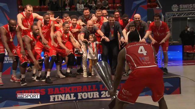 Basketball, Coupe de la ligue: Victoire de Genève [RTS]