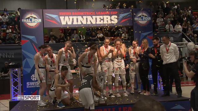 Basketball, Coupe de la ligue dames: Victoire de Fribourg [RTS]