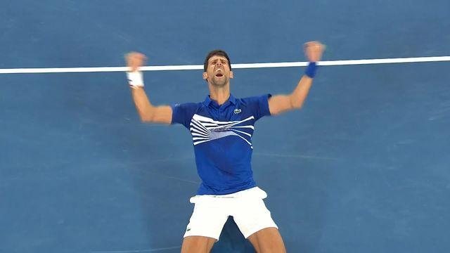 Tennis, Après la victoire de Djokovic, bilan de l'open d'Australie. [RTS]