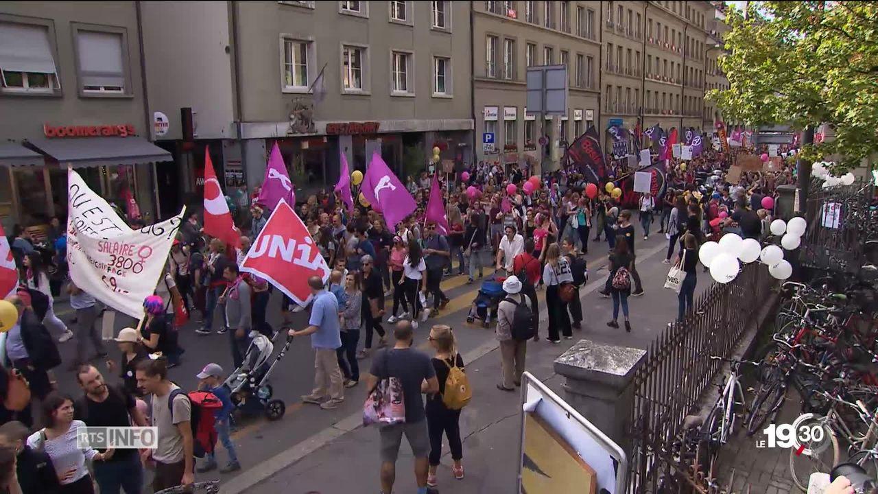 La grève des femmes 2019 est-elle trop positionnée à gauche?  [RTS]