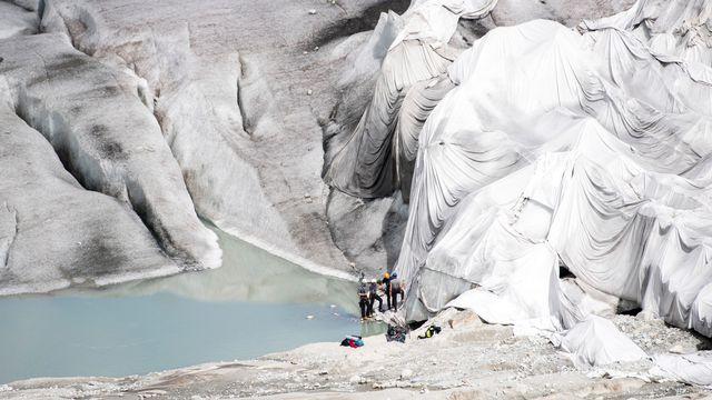 L'initiative dite pour les glaciers veut inscrire la protection du climat dans la Constitution. [Urs Flueeler - Keystone]