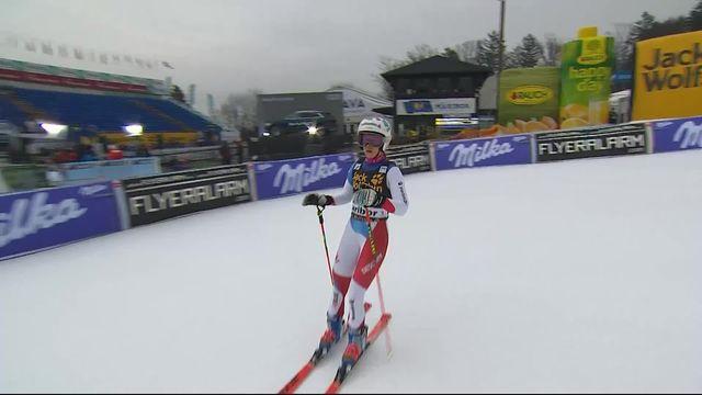 Maribor (SLO), Géant dames 1re manche: Aline Danioth (SUI) [RTS]
