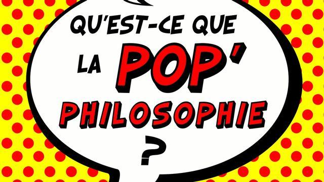 """La couverture du livre """"Qu'est-ce que la pop'philosophie?"""". [PUF]"""