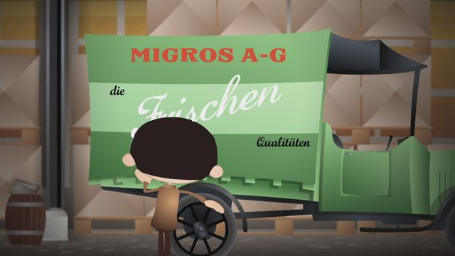 Saison 2 (5-26) - 1925 Gottlieb Duttweiler et la Migros [RTS]