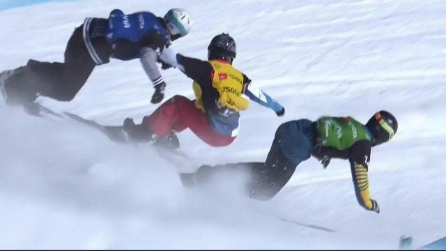Park City (USA), snowboardcross messieurs: Nick Watter (SUI) s'arrête en 1-8e [RTS]