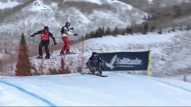 Park City (USA), snowboardcross messieurs: pas de 1-4 pour Kalle Koblet (SUI) [RTS]