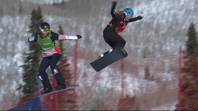 Park City (USA), snowboardcross dames: pas de ½ finale pour Lara Casanova (SUI), troisième de sa série [RTS]