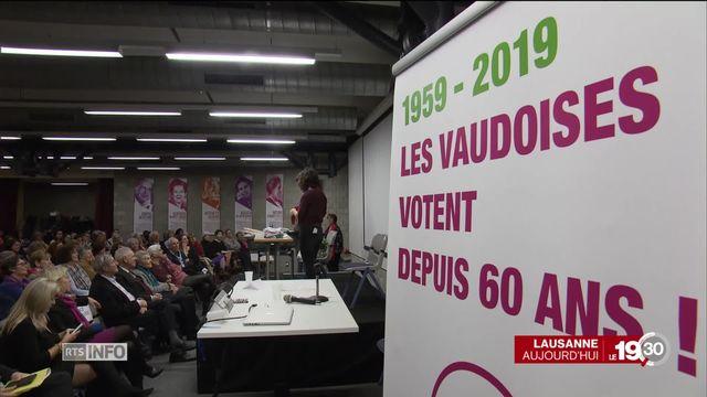 Suffrage féminin, Vaud pionnier, est le premier canton à l'avoir accordé aux femmes aux niveaux cantonal et communal [RTS]