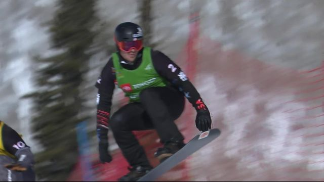 Park City (USA), snowboardcross messieurs: Mick Dierdorff (USA) champion du monde [RTS]