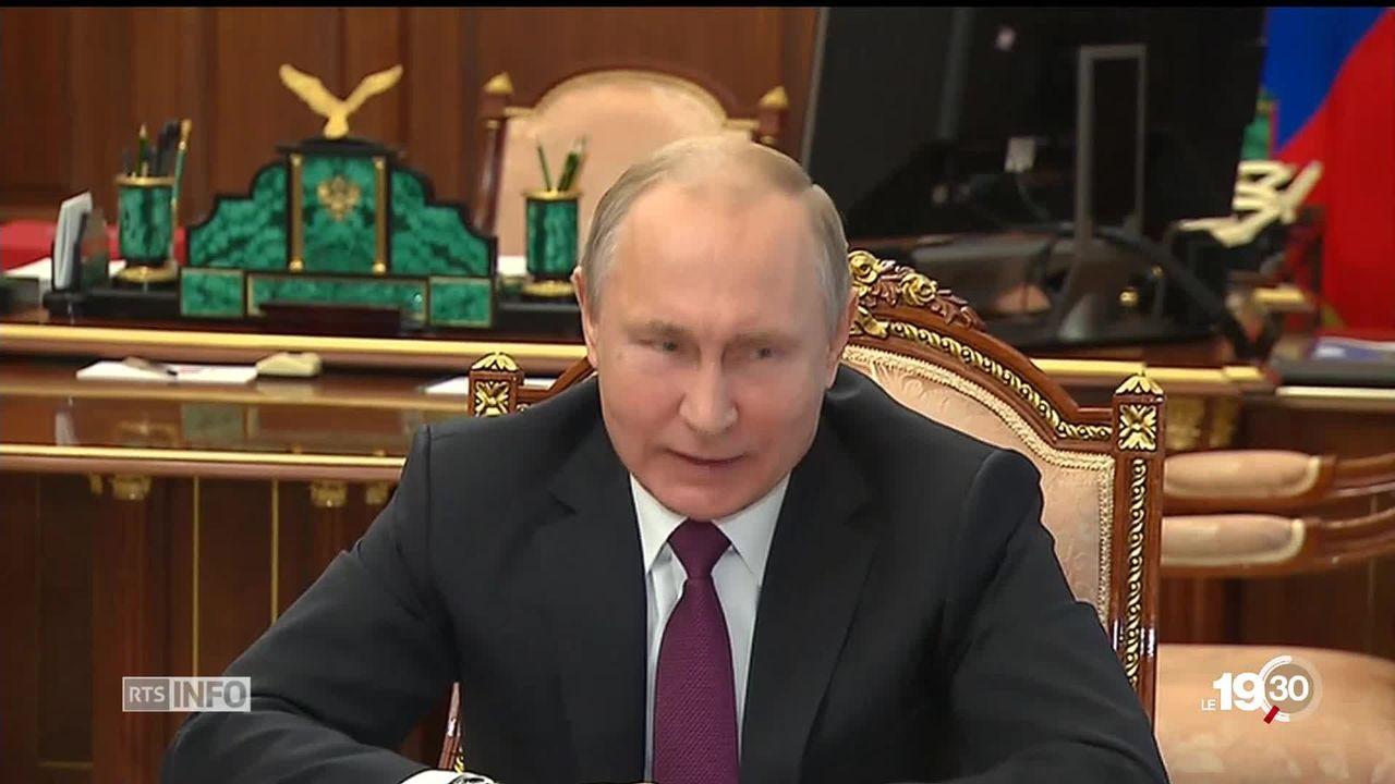 Traité sur le nucléaire: la Russie annonce son retrait après celui des USA. [RTS]