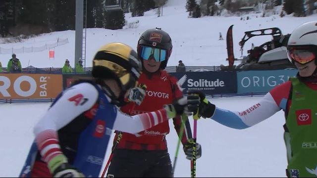 Park City (USA), skicross dames: Priscilla Annen (SUI) s'arrête en 1-8e [RTS]