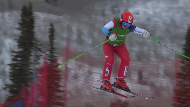 Park City (USA), skicross dames: Fanny Smith (SUI) passe en 1-4, pas Sixtine Cousin (SUI) [RTS]
