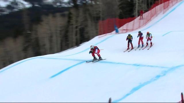 Park City (USA), skicross messieurs: Joos Berry (SUI) pas qualifié pour les 1-4 contrairement à Alex Fiva (SUI) [RTS]