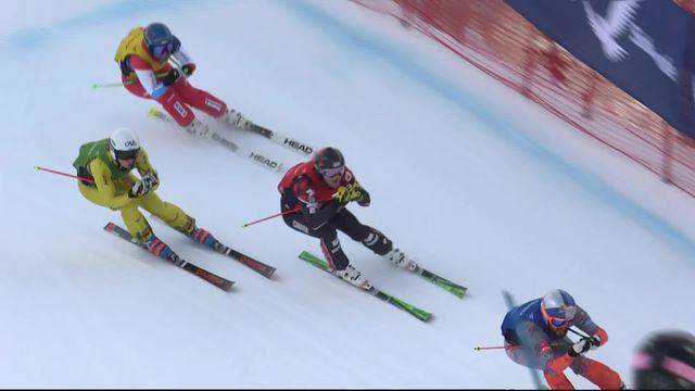 Park City (USA), skicross messieurs: Marc Bischofberger (SUI) termine dernier de son 1-4 de finale [RTS]