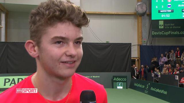 Coupe Davis: les Suisses ne participeront pas à la phase finale [RTS]