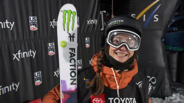 Mondiaux ski freestyle, Big Air : malgré un excellent 1er run, Sarah Höfflin termine 4e [RTS]