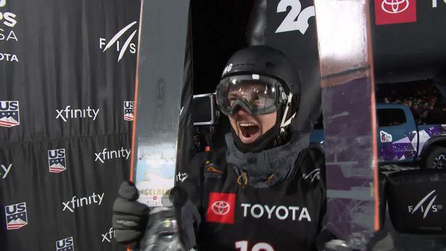 Mondiaux ski Freestyle, Big Air : Fabian Bösch réalise un 2e run exceptionnel pour devenir champion du monde [RTS]