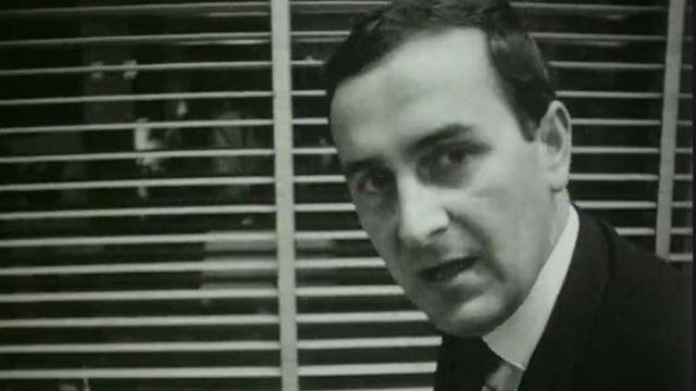 Le journaliste José Ribeaud à l'époque du Téléjournal à Zurich. [RTS]