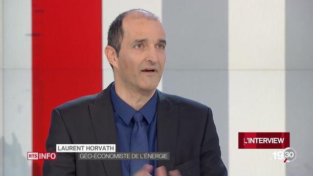 Laurent Horvath, géo-économiste de l'énergie, évoque les solutions à la crise climatique. [RTS]