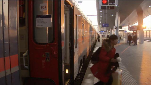 Le retour du train de nuit pour limiter le réchauffement climatique? [RTS]