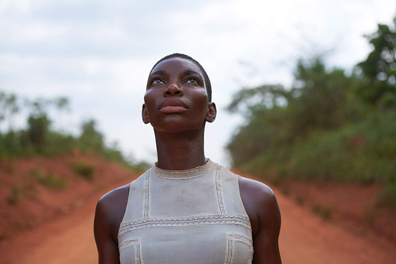 "Michaela Coel dans la série ""Black Earth Rising""."