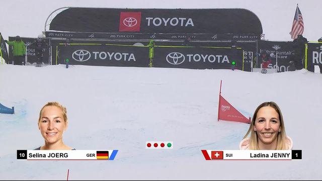 Mondiaux de freestyle à Park City: Ladina Jenny battue en demi-finale [RTS]