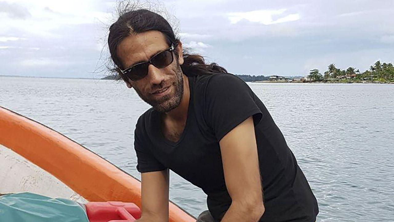 Le journaliste et romancier Behrouz Boochani. [Omid Tofighian - AFP]