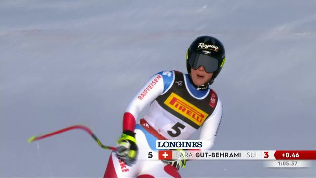Are (SWE), Super G dames: Lara Gut-Behrami (SUI) [RTS]