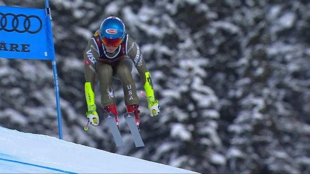 Are (SWE), Super G dames: Mikaela Shiffrin (USA) remporte une 4ème titre mondial devant Goggia (ITA) et Suter (SUI) [RTS]