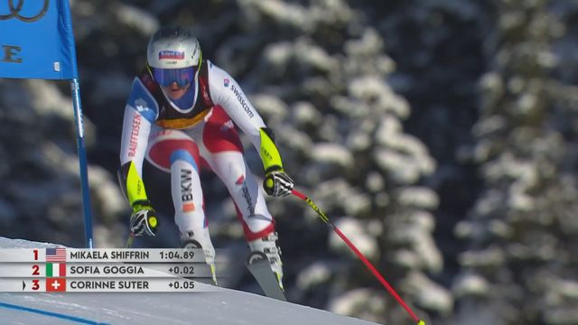 Super G dames: les highlights de la course [RTS]