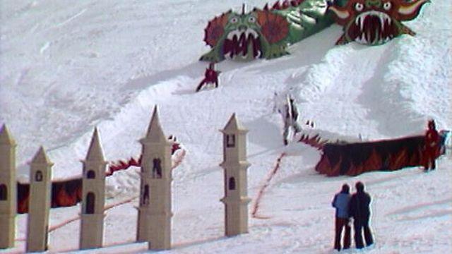 Finale d'Interneige en 1978. [RTS]