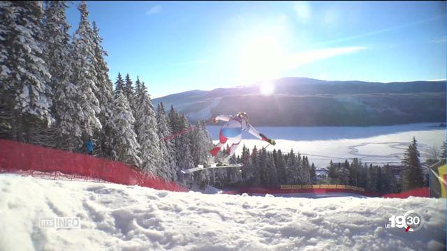 Championnats du monde à Are, Suède: premier podium suisse, du bronze pour Corinne Suter en Super G [RTS]